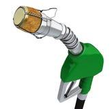 Gas prices go down stock illustration