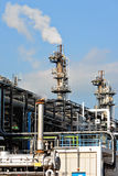 Gas processing factory Royalty Free Stock Images