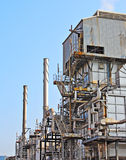 Gas Processing Factory Royalty Free Stock Photos