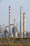 Gas processing factory Royalty Free Stock Image