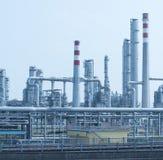Gas processing factory. landscape Stock Photos