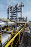 Gas-processing industry Stock Images