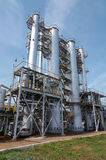 Gas-processing industry Royalty Free Stock Photos