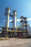Gas-processing industry Stock Image