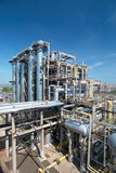 Gas processing industry Royalty Free Stock Images