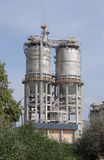 Gas processing industry II. Close-ups of different parts of a factory gas processing and packaging stock images