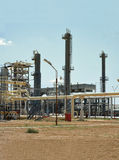 Gas Processing Plant. Stock Photo