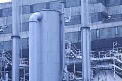 Gas processing plants in Hong Kong Stock Photos