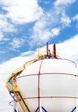Gas Propane-butane tank. Storage Tank Stock Photography