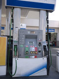 Gas pump Stock Photo