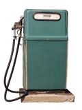 Gas Pump. Isolated on a white background Stock Photos