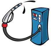 Gas pump Royalty Free Stock Photos