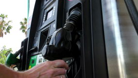 Gas Pump 1b stock video