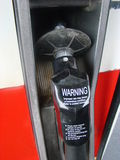 Gas pump handle Stock Images
