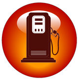 Gas pump icon Royalty Free Stock Images