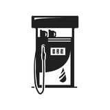 Gas pump icon Royalty Free Stock Photography