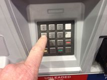 Gas Pump Keypad. An image of a keypad on a gas pump Royalty Free Stock Image