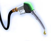 Gas Pump nozzle. 3d illustration of gas pump nozzle on white background stock illustration