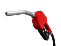 Gas Pump Nozzle Stock Image