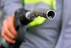 Gas Pump Nozzle Royalty Free Stock Image