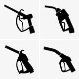 Gas pump pistol Royalty Free Stock Photos