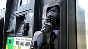Gas Pump 1a stock footage