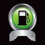 Gas pump in silver display Royalty Free Stock Photography