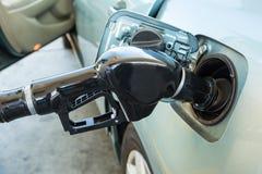 Gas pumpar Royaltyfri Bild