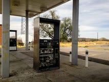 Gas pumpar Royaltyfria Bilder