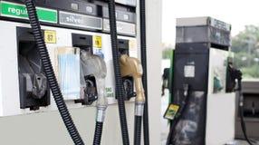 Gas-Pumpe Lizenzfreies Stockbild