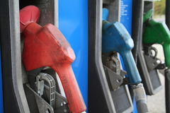 Gas-Pumpen Stockfotos