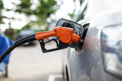 Gas-Pumpen-Düse Lizenzfreies Stockfoto