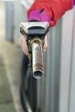 Gas-Pumpen-Düse Stockbilder