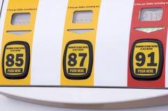 Gas-Pumpen-Gesicht Lizenzfreie Stockfotos
