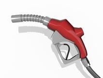 Gas-Pumpendüse Stockfotos