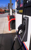 Gas pumps Royalty Free Stock Images