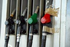Gas pumps Stock Images
