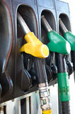 Gas pumps Royalty Free Stock Image