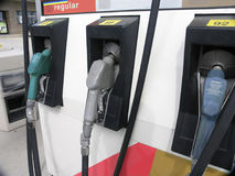 Gas Pumps. At filling station - yet another stock photos