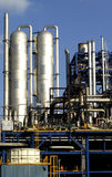 Gas refinery Royalty Free Stock Photos