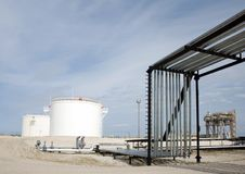 Gas refinery Stock Images