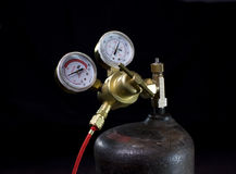Gas regulator Royalty Free Stock Image