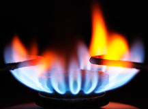 Gas ring Royalty Free Stock Image
