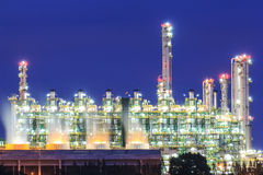 Gas separation plant Royalty Free Stock Photo