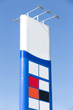 Gas sign Stock Images