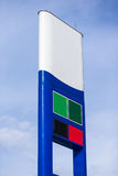 Gas sign Stock Image