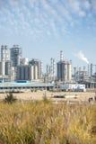 Gas som bearbetar fabriken Royaltyfri Foto