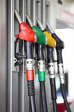 At gas station Stock Photography
