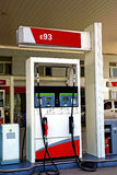 Gas station. The photo was take in a gas station Stock Photo