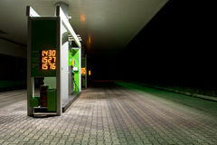 Gas station. Royalty Free Stock Photo